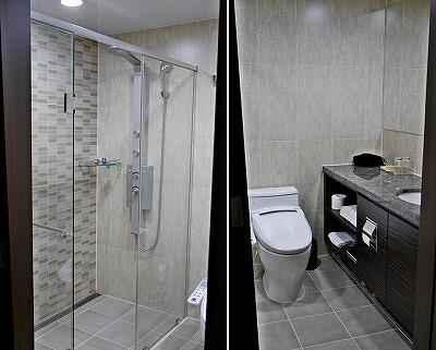 韓国 水原 バリュー ホテル ワールドワイド ハイ エンド Value Hotel Worldwide High End バスルーム