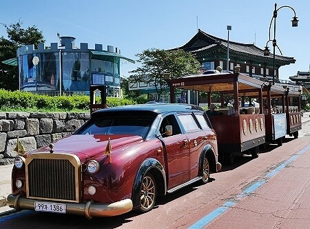 韓国 水原華城 華城列車