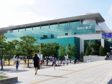 韓国 高陽オウルリムヌリアイスリンク場