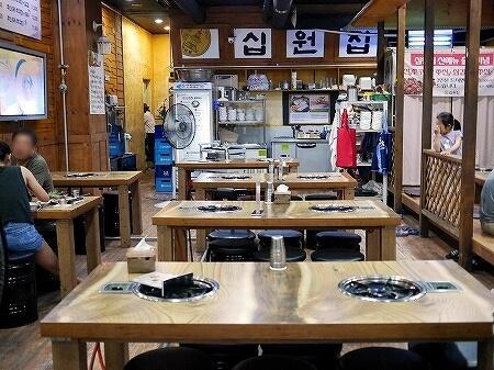 韓国 高陽 シボンチッ(십원집)