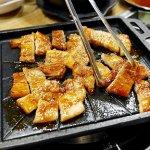 韓国 シボンチッ 練炭 サムギョプサル 豚 焼肉