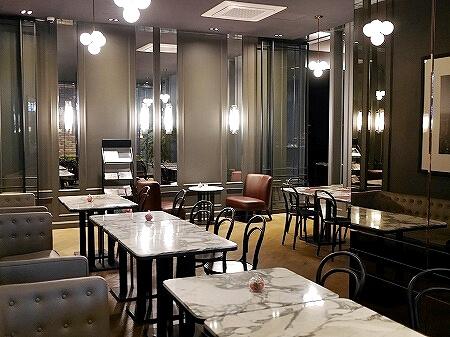 韓国、光明 GM JS ブティック ホテル GM JS Boutique Hotel 朝食 カフェ