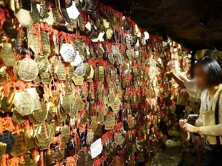 韓国 光明洞窟 黄金の道