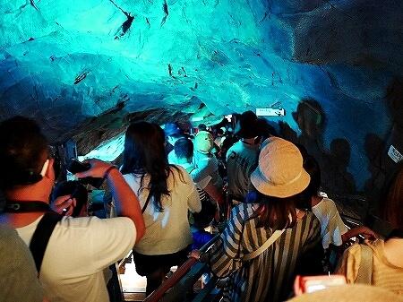 韓国 光明洞窟 階段