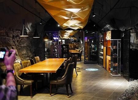 韓国 光明洞窟 ワインレストラン