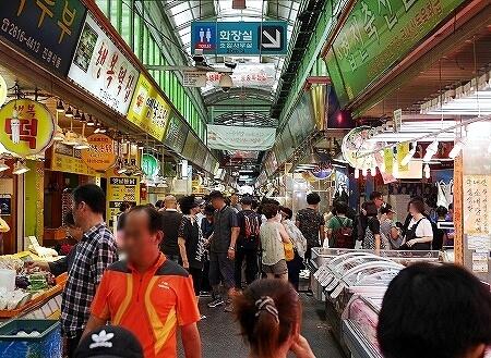 韓国 光明伝統市場