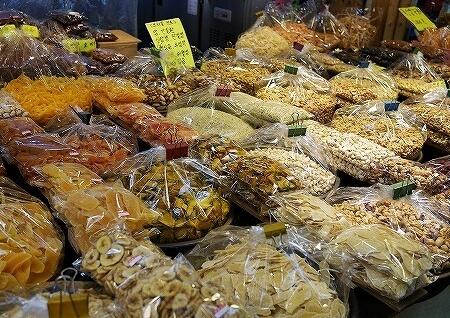 韓国 光明伝統市場 ドライフルーツ