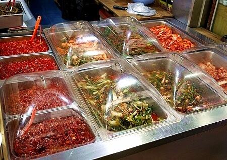韓国 光明伝統市場 キムチ