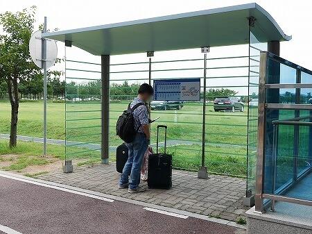 仁川空港 Eマート e-mart 無料バス乗り場 帰り
