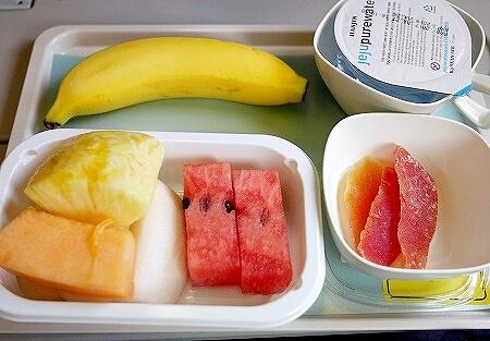 大韓航空 機内食 フルーツミール