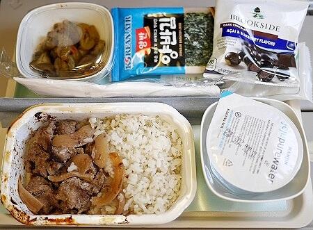 大韓航空 機内食 KE001