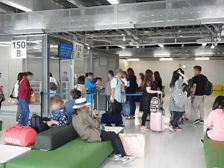 成田空港第3ターミナル 搭乗ゲート バニラエア