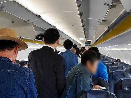 バニラエア 搭乗記 機内