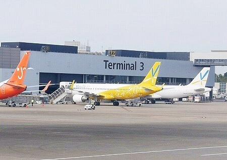 成田空港第3ターミナル バニラエア 搭乗記