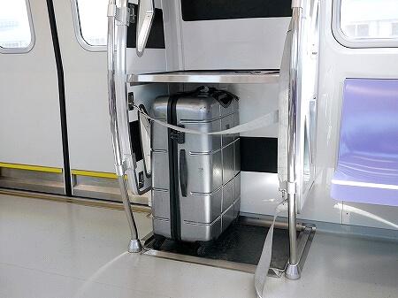 台湾 桃園空港 第1ターミナル MRT 乗り方 荷物置き場