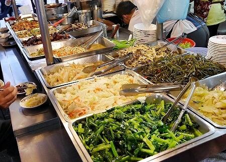 台湾 台北 香満園 魯肉飯 お惣菜