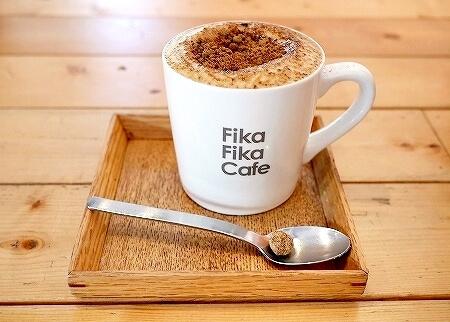 台湾 台北 Fika Fika Cafe フィカフィカカフェ 黒糖ラテ