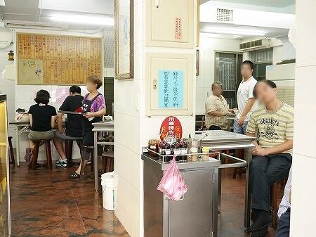 台北 迪化街 佳興魚丸店 魚丸湯 店内
