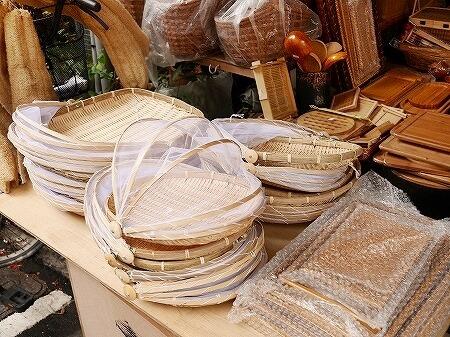台湾 ディーホアジエ 台北 迪化街 林豊益商行 ネット付きざる
