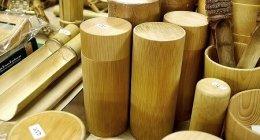 台北「迪化街」竹製品のお店「高建桶店」でスタイリッシュな竹の茶筒に一目ぼれ♡