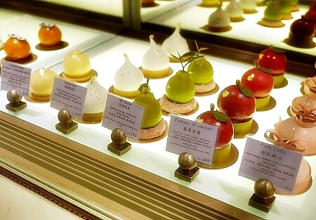 マンダリンオリエンタル台北 ケーキショップ ケーキ