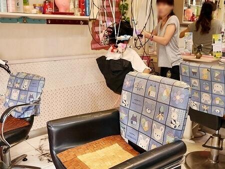 台北 迪化街 ディーホアジエ 美容院 安琪兒(エンジェル)HAIR SALON ヘアサロン シャンプー