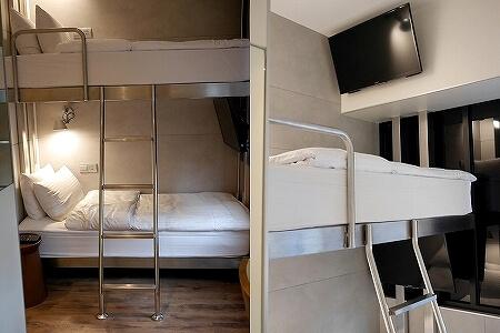 台湾 台北 ホテル リラックス 5 旅楽序精品旅館 站前五館 Hotel Relax V 2段ベッド