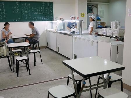 台湾 台北 北門鳳李冰 シャーベット アイス 店内