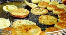 台北「温州街蘿蔔絲餅達人」千切り大根入り揚げ饅頭「蘿蔔絲餅」が大人気!私は「蔥油餅」派♪