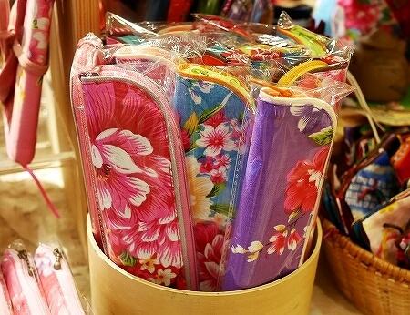 台湾 台北 永康街 おすすめ お土産屋 雲彩軒 花布 ペンケース 箸ケース