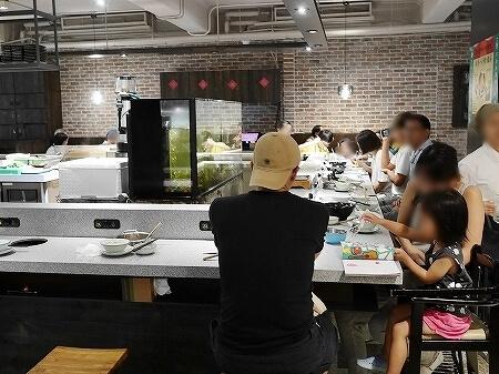 台湾 台北 齊民市集 有機鍋物 GREEN&SAFE 一人鍋 レストラン