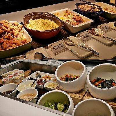 台湾桃園空港第1ターミナル プラザプレミアムラウンジ Zone C Plaza Premium Lounge 食事