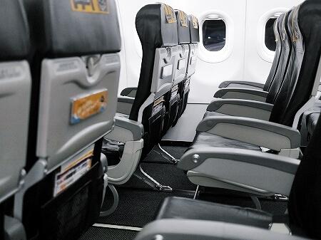 タイガーエア 機内 シート 座席 IT216