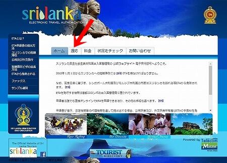 スリランカビザ 申請方法 オンライン ETA