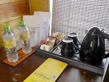 スリランカ カルナカララ・アーユルヴェーダ・スパ&リゾート 滞在記 部屋 コテージ karunakarala コーヒー 紅茶