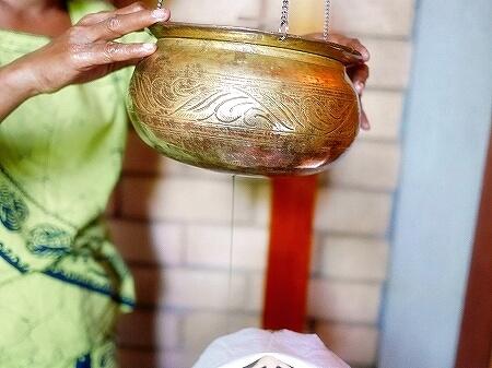 スリランカ カルナカララ・アーユルヴェーダ・スパ&リゾート 滞在記 シロダーラ karunakarala