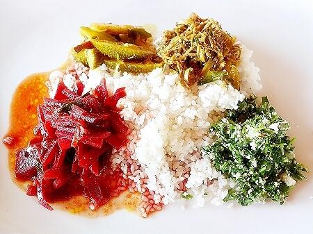 スリランカ カルナカララ・アーユルヴェーダ・スパ&リゾート 滞在記 食事 karunakarala