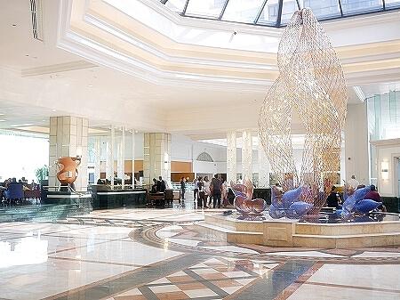 スリランカ シナモングランドコロンボ ホテル ロビー Cinnamon Grand Colombo
