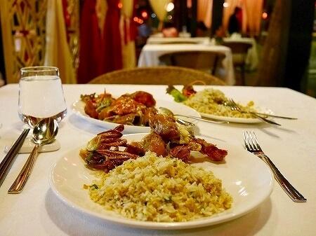 スリランカ Tao シナモングランドコロンボホテル レストラン 中華 カニチャーハン