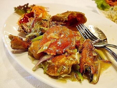 スリランカ Tao シナモングランドコロンボホテル レストラン 中華 カニ MUD CRAB