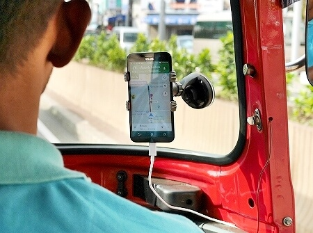 スリランカ PickMe 配車アプリ トゥクトゥク Pick Me 使い方