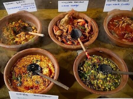 スリランカ コロンボ NUGA GAMA ヌガガマ Colombo レストラン スリランカ料理 ビュッフェ カニカレー