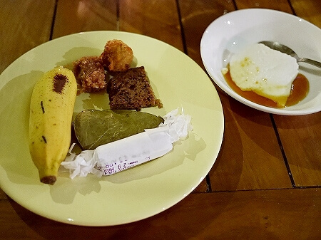 スリランカ コロンボ NUGA GAMA ヌガガマ Colombo レストラン スリランカ料理 ビュッフェ デザート ローカルスイーツ