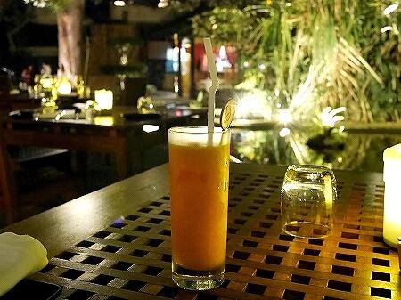 スリランカ コロンボ The Lagoon ラグーン シナモングランドコロンボホテル マンゴージュース