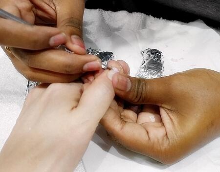 スリランカ コロンボ ジェルネイル ネイルサロン OPI Nail Studio オフ