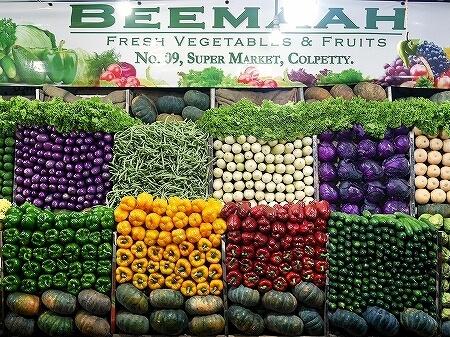 スリランカ コロンボ コルピティアマーケット Kollupitiya Market 野菜 八百屋