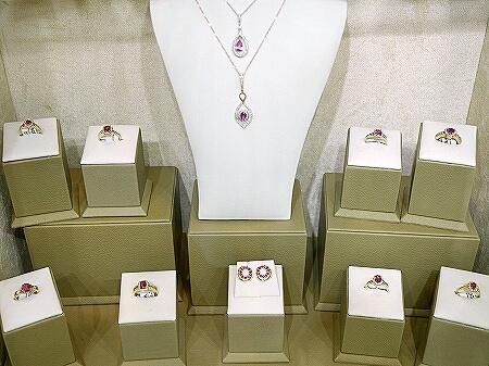 スリランカ コロンボ 宝石店 ピアス JEWEL ARENA 指輪 ネックレス