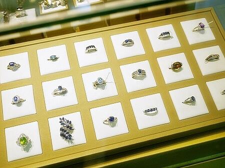 スリランカ コロンボ 宝石店 ピアス JEWEL ARENA リング 指輪