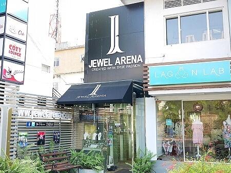 スリランカ コロンボ 宝石店 ピアス JEWEL ARENA