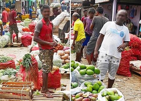 スリランカ コロンボ Manning Market マニングマーケット ペター市場 人々